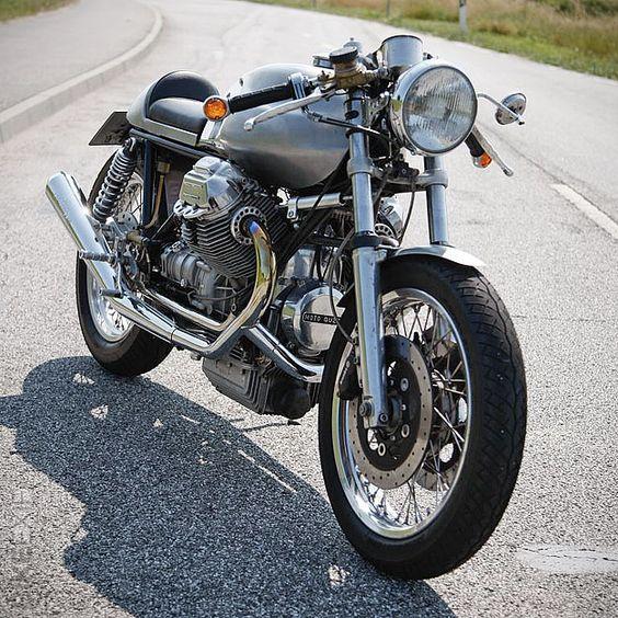 Absolutely beautiful Moto Guzzi Le Mans