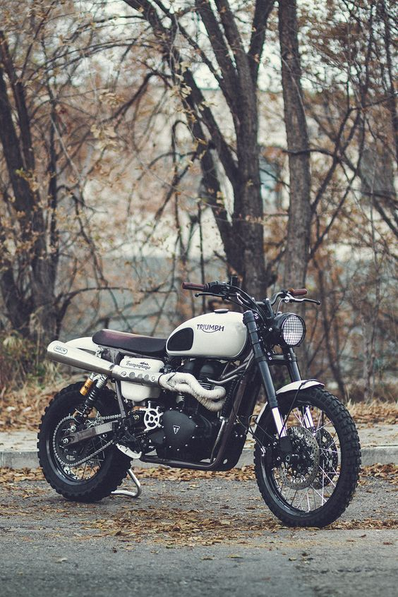 After developing the 800XC, a crew of Triumph engineers and test riders spent four years turning the Scrambler into a genuine off-road weapon.