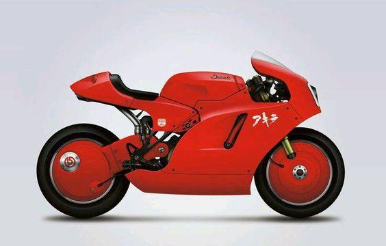 Akira Ducati Bike