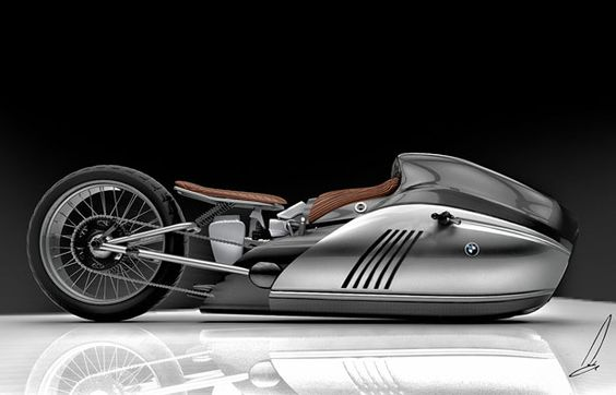 Alpha Motorcycle Concept Design Study for BMW by Mehmet Doruk Erdem