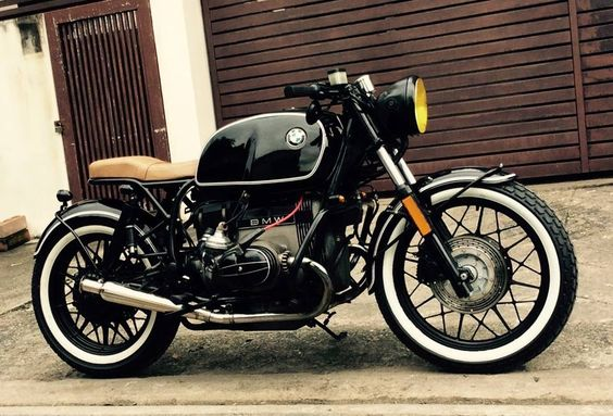Although it looks like a gorgeous motorcycle, it's a story--waiting to