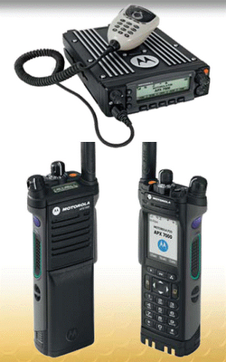 Amateur Radio Software: Motorola APX7000 CPS  set up a base camp command center