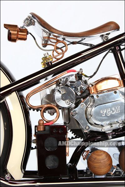 AMD World Championship, Fine Custom Mechanics, bike details & gallery