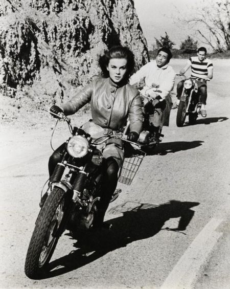 Anne Margret, out in front!