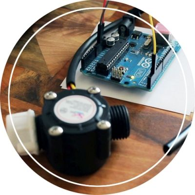 arduino water flow sensor project