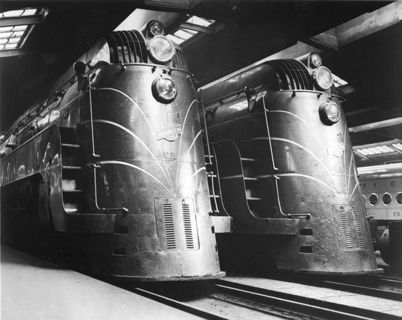 Art Deco Locomotives