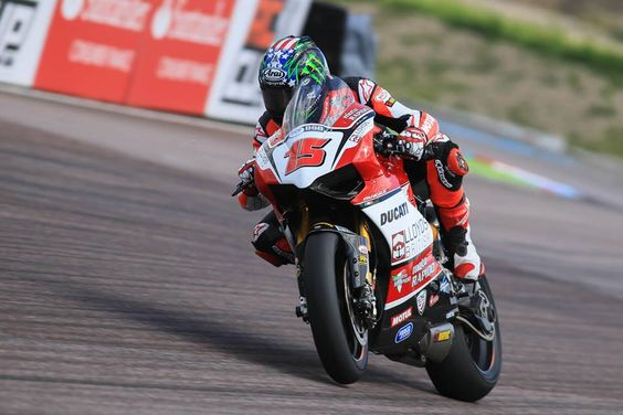As BSB returns to Thruxton for the fastest round of the BSB Calendar, rider John Hopkins (Lloyds British Moto Rapido Ducati Team) claimed his first front row start of the 2015 MCE British Superbike Championship.         #ThruxBSB #MCEBSB #DucatiRacing