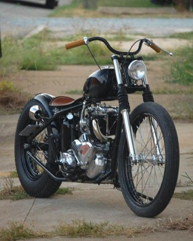Atom bomb Triumph Thunderbird '57