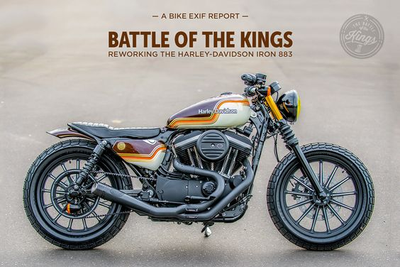 Battle Of The Kings: Harley's 2016 dealer competition puts the Iron 883 Sportster under the spotlight.