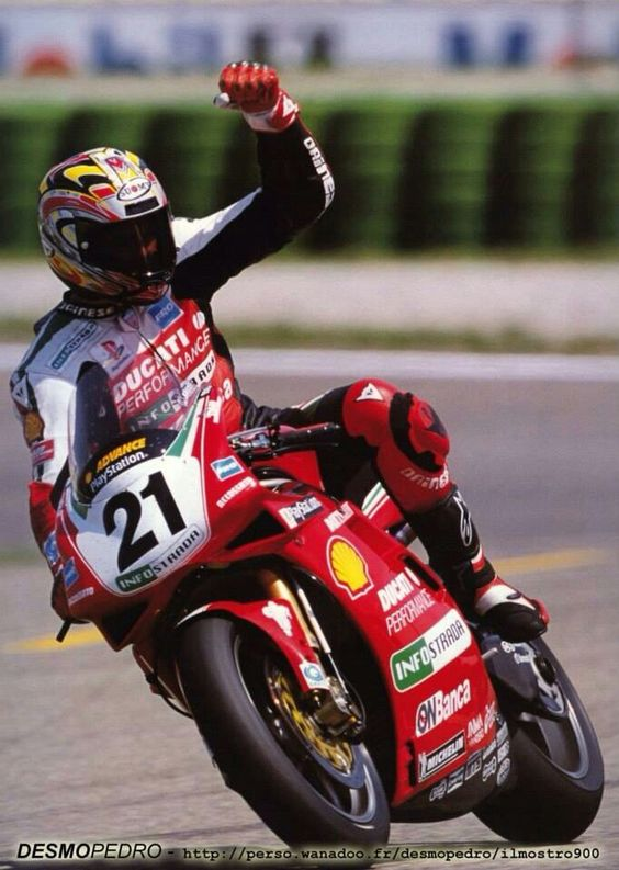 Bayliss on the 996 WSB