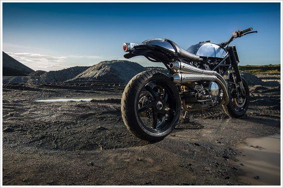 BCR Ducati 'Monster Tracker' - Pipeburn - Purveyors of Classic Motorcycles, Cafe Racers & Custom motorbikes