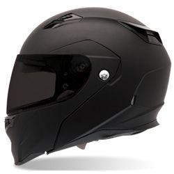 Bell Sports Full Face Motorcycle Helmet - Revolver EVO Dull Black