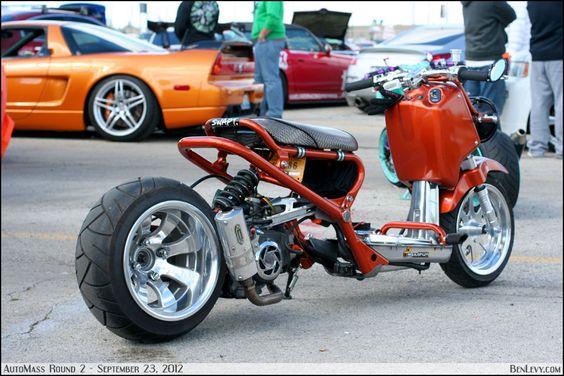Ben Levy's Honda Ruckus