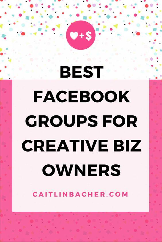 Best Facebook Groups For Creative Biz Owners   Caitlin Bacher