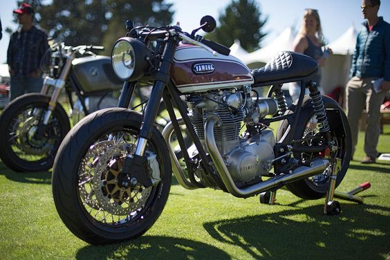 Best of The Quail Motorcycle Gathering, 2016: A custom Yamaha XS650 by Cognito Moto.