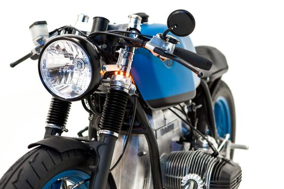 "BMW Cafe Racer ""Rageur"" by French Monkeys #motorcycles #caferacer #motos 