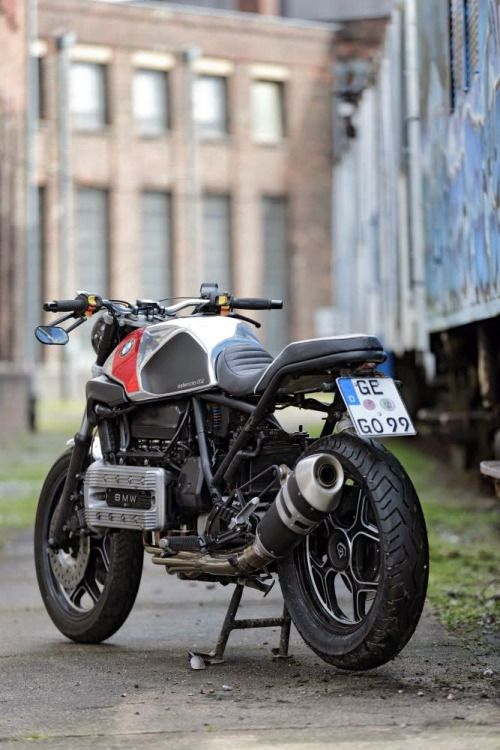 BMW K100 Cafe Racer by Cafemoto 002 #motorcycles #caferacer #motos |