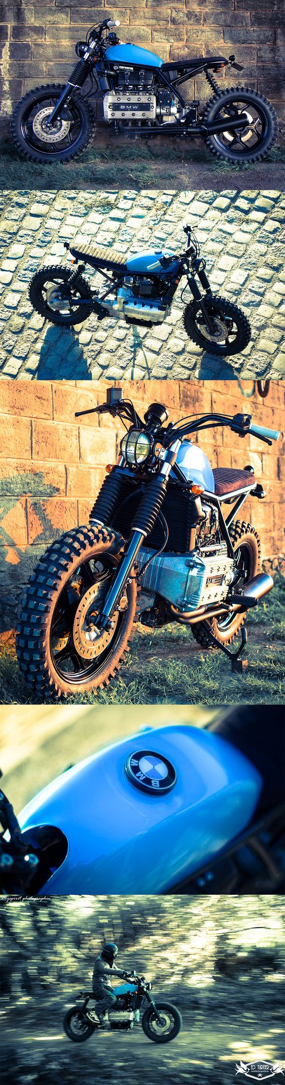BMW K100 Scrambler by Ed Turner Motorcycles
