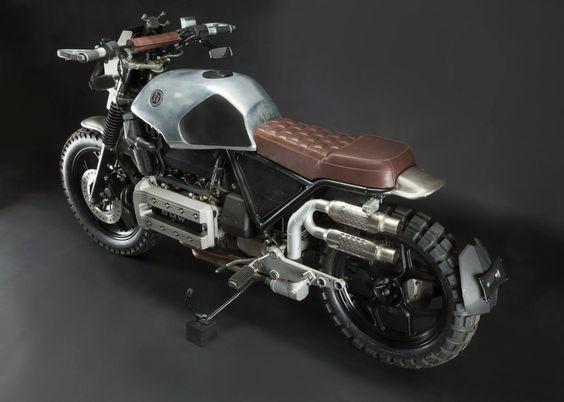 BMW K100 Scrambler by (h) garage #motorcycles #scrambler #motos |