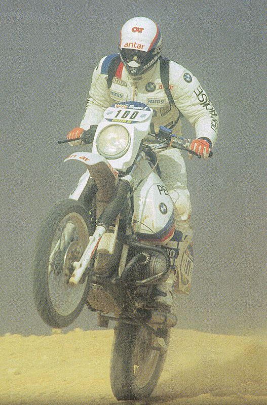 BMW Paris-Dakar Hubert Auriol 1981 + 1983
