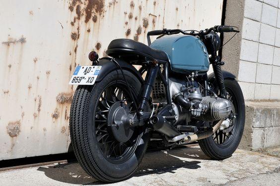 BMW R-series custom. #vintage