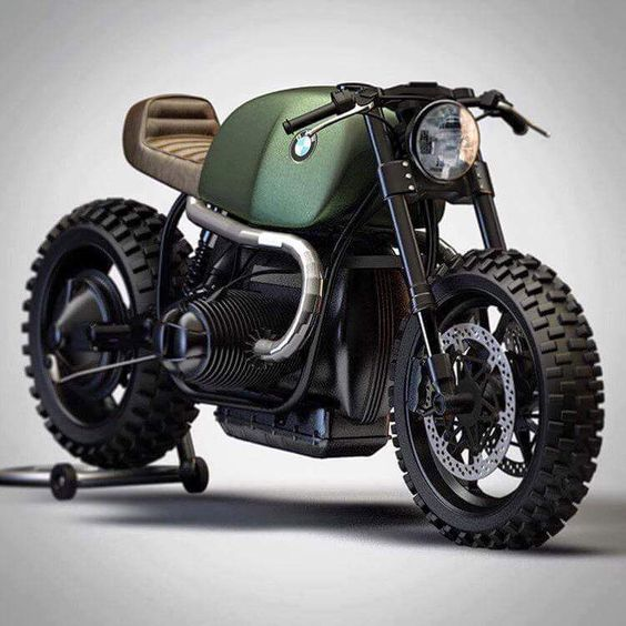 BMW R100 Cafe Racer #motorcycles #caferacer #motos |