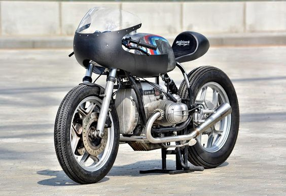 """BMW R100RS Cafe Racer """"schizzo"""" by Walzwerkracing #motorcycles #caferacer #motos  """