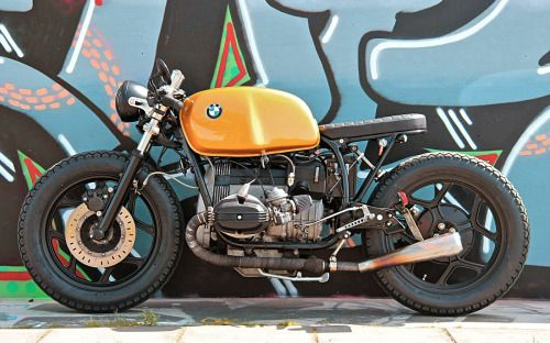 """BMW R80 Cafe Racer """"The Killer Bee"""" #IWC7 by Ironwood Custom Motorcycles #caferacer #motos 