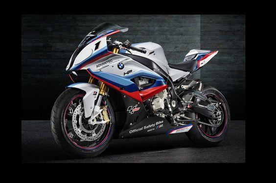 BMW S1000RR 2015 MotoGP safety bike.