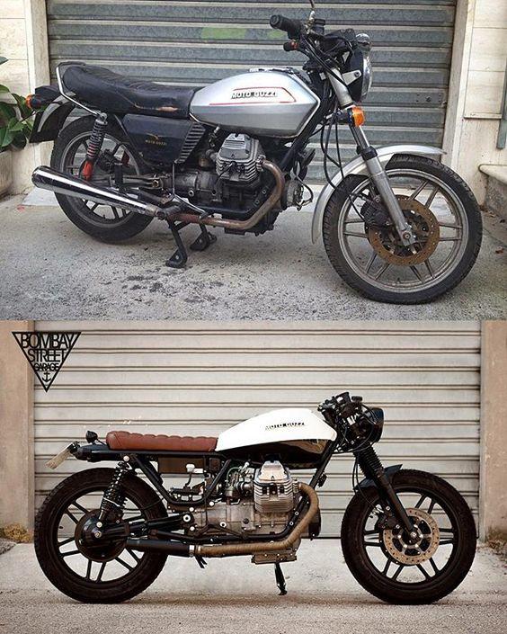 #bombay2 #bombaystreetgarage #bsg #bombay #motoguzzi #guzzi #v35 #sbt #motorbike #custom #vintage #brat #caferace #style