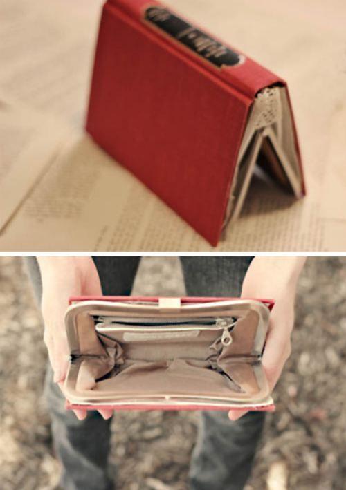 Book bag wallet i NEEEEEEEED this