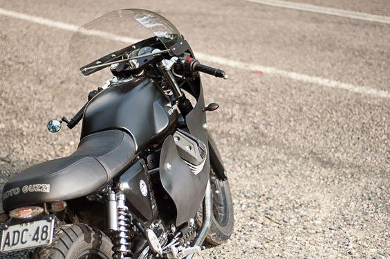 Brad's Moto Guzzi V7 ~ Return of the Cafe Racers