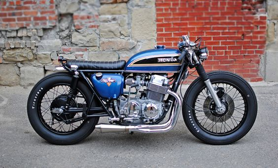 Brat style CB750 RS Straight