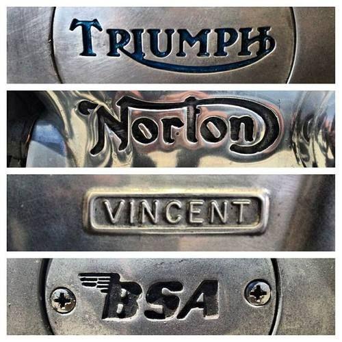 Brit Iron : Triumph Norton Vincent BSA