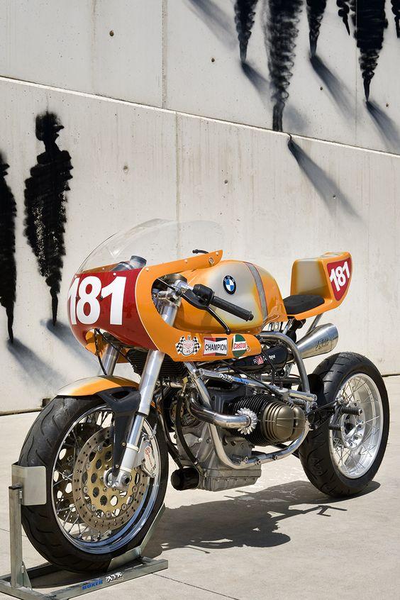 Brutal BMW R80 ST Cafe Racer ''Daytona'' XTR Pepo #motorcycles #caferacer #motos |