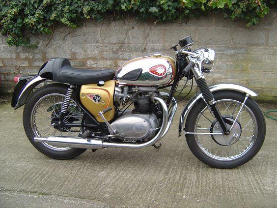 bsa motorcycles | BSA 650cc lightning clubman 1965 production racer