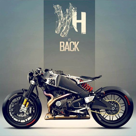 Buell cafe racer