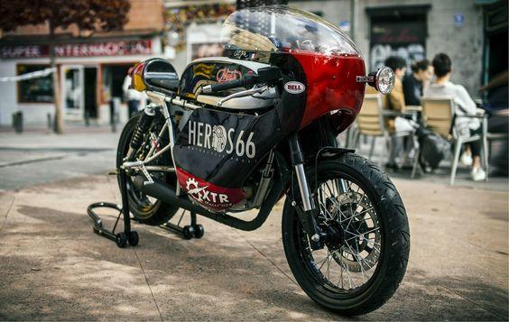 Cafe Noir by XTR   Inazuma café racer