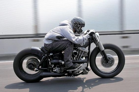 cafe racer brat-bob - Google Search