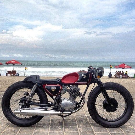 CAFE RACER CULTURE: CB 125