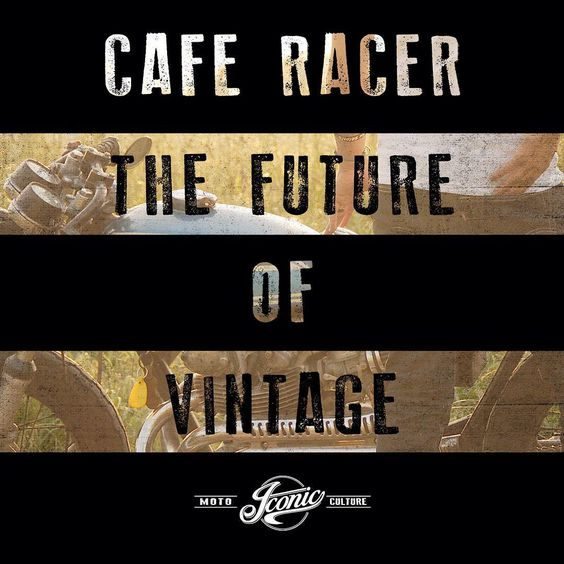Cafe Racer - The Future of Vintage. For the love of the Moto Culture.  #motorcycles #caferacer #motoculture #moto #vintagemotorcycle #motoapparel #iconicmoto #caferacersofinstagram #vintage #gofast #art #graphicdesign