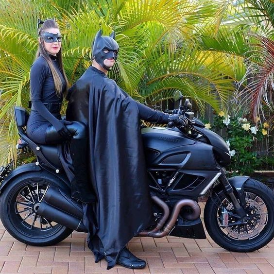 Caption that!  Relationship Goals!  By: Tag the owner(s)   #ducatistagram #ducati #diavel #smcbikes regram @ducatistagram