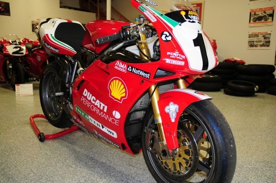 Carl Fogarty Race Bike 1999 Ducati 996 For Sale