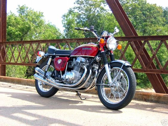 CB750 - around 1974