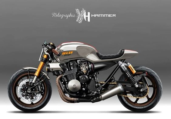CB750 by Holographic Hammer - Pin by Corb Motorcycles
