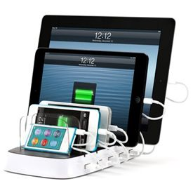 Charge 5 iPads at Once With Griffin's PowerDock 5