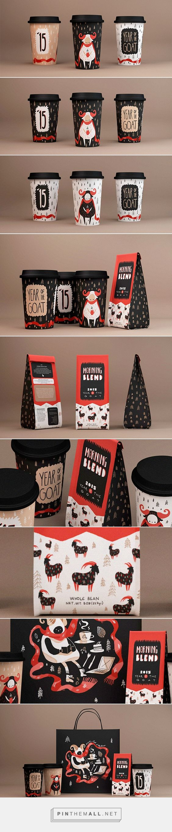 Chinese Year of the Goat / Coffee packaging