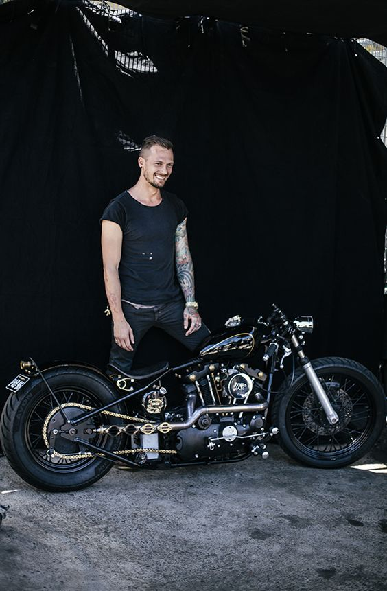 Chopper,bobber, custom motorcycle