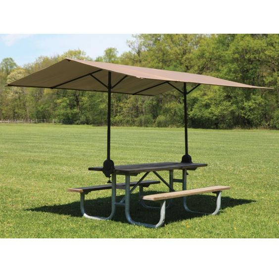 Clamp On Picnic Table Canopy