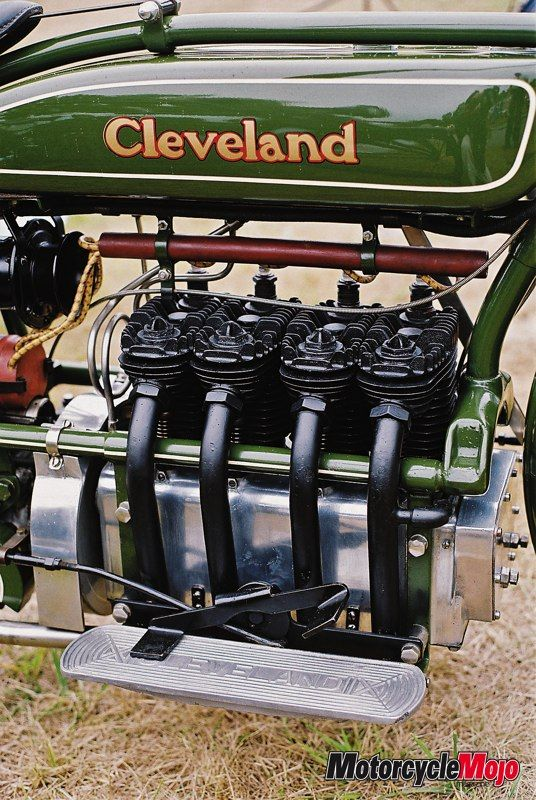 cleveland 4 cylinder motorcycles | America's Early In-Line Fours - Motorcycle Mojo Magazine